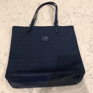1a53e0f2fb55 Michael Kors Bags - Michael Kors Navy Neoprene Tote Bag